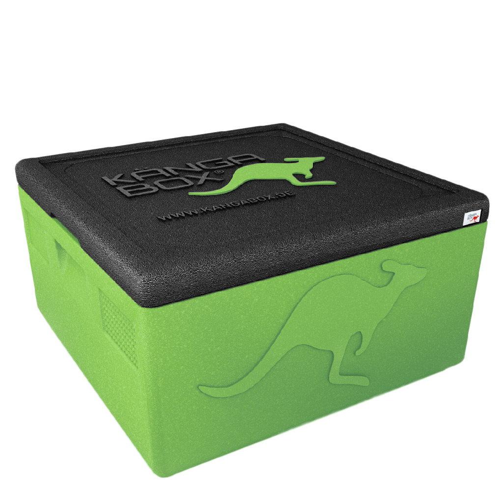 Kängabox termobox Easy S 32l limetová zelená