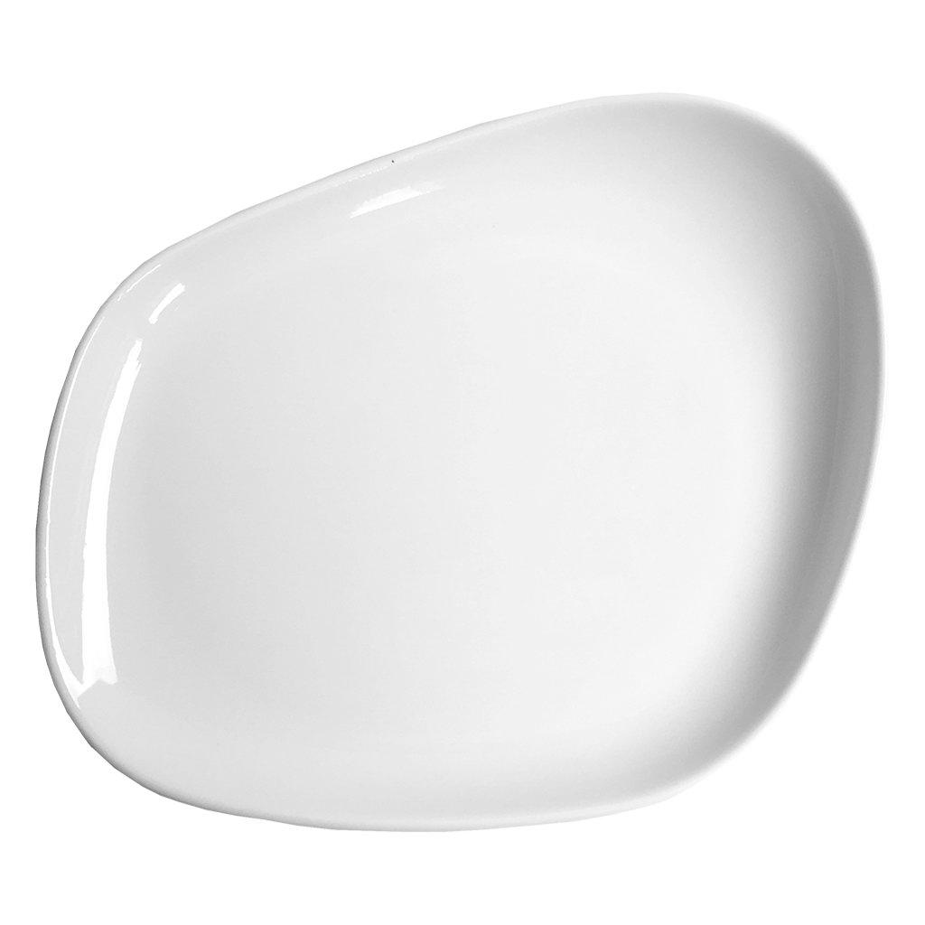 Cookplay Yayoi mělký talíř s glazurou 23x20x3,5cm