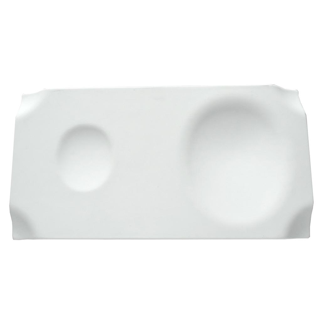 Cookplay Jo porcelánový talíř matný 29x15x2cm