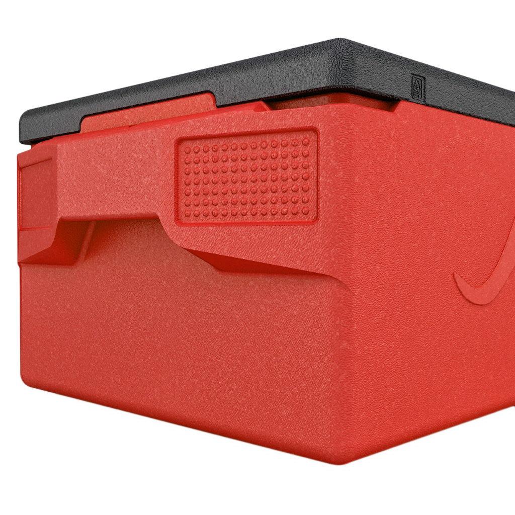 KÄNGABOX® termobox Professional plus GN 1/1 39l červený