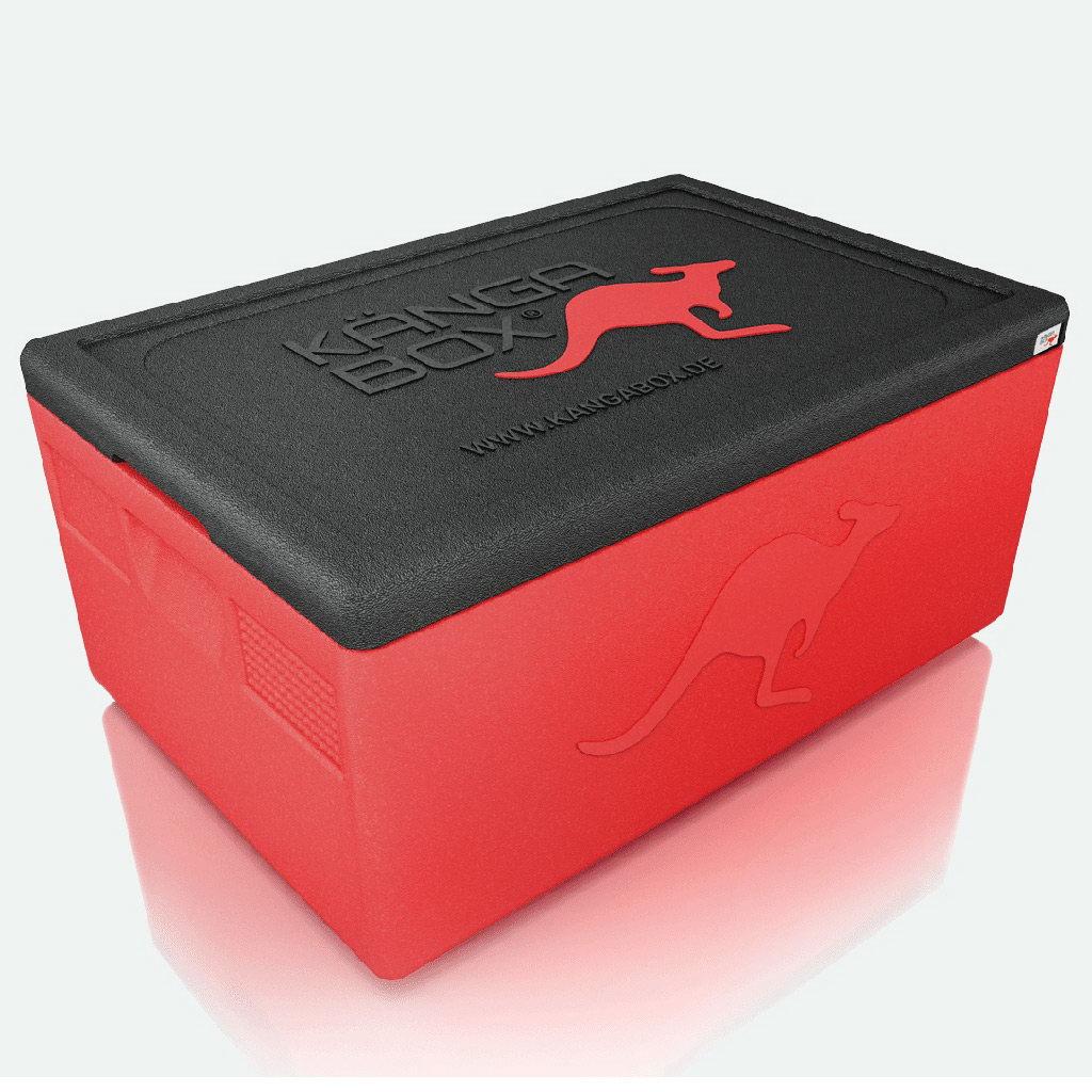 Kängabox termobox Expert GN1/1 30l červená