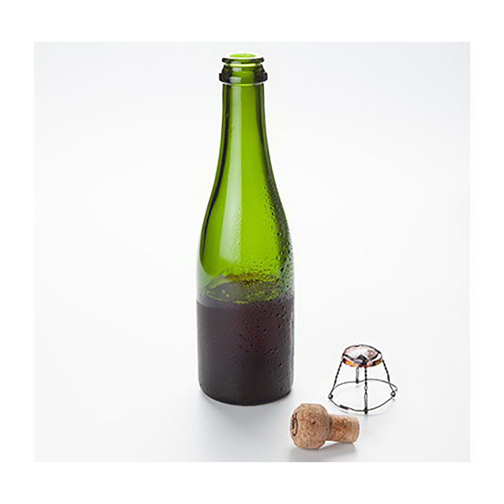 100% Chef poloviční pumanti lahev ø5,5x25cm 375ml