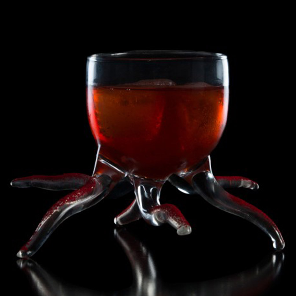 100% Chef Starfish Glass 18x11cm