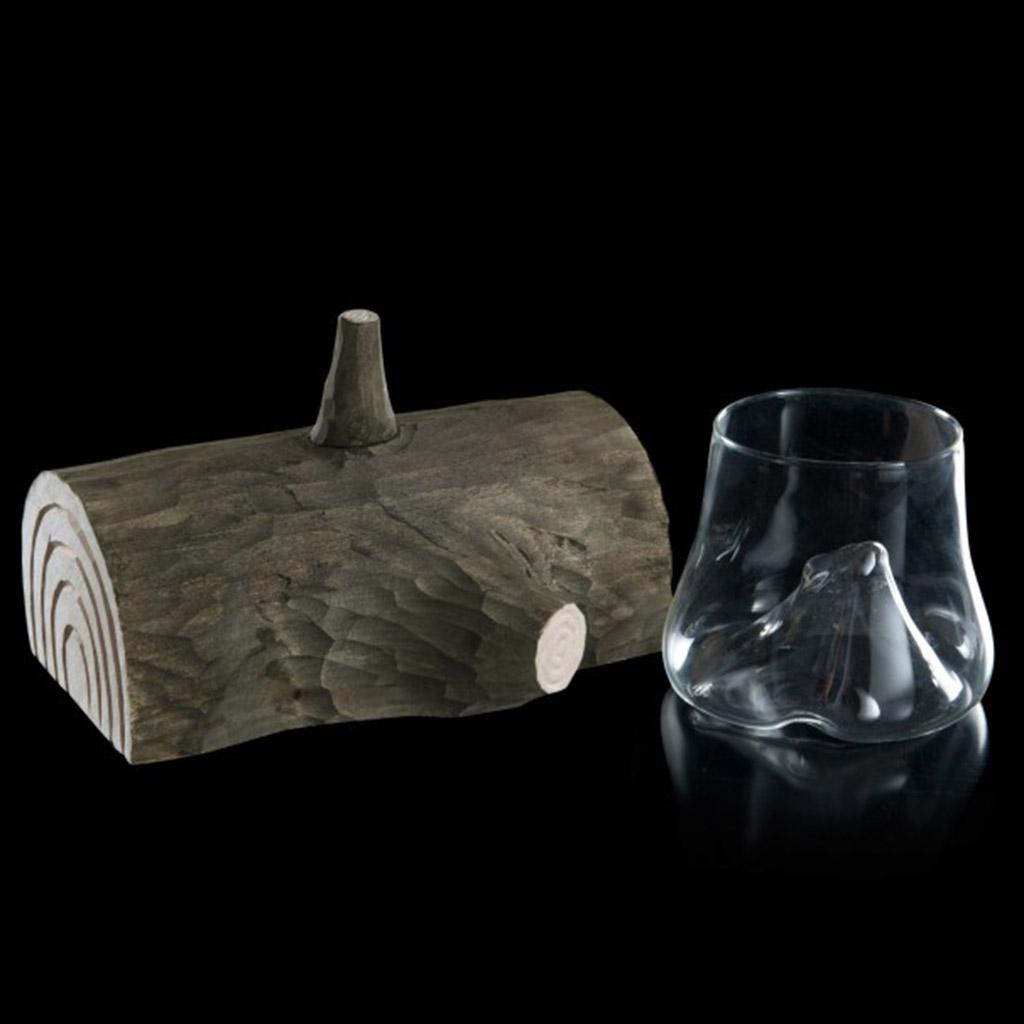 100% Chef Wood Trunk sklenička