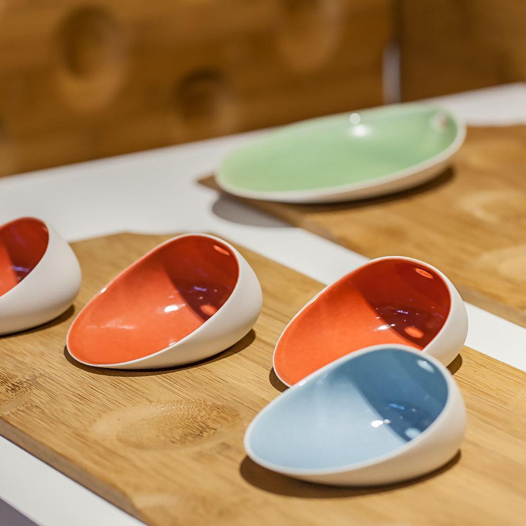 Cookplay Jomon S porcelánová miska zelená 14x11x4cm