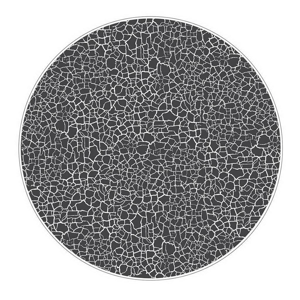 Figgjo Verde Krakelering Positive černý talíř ø27cm