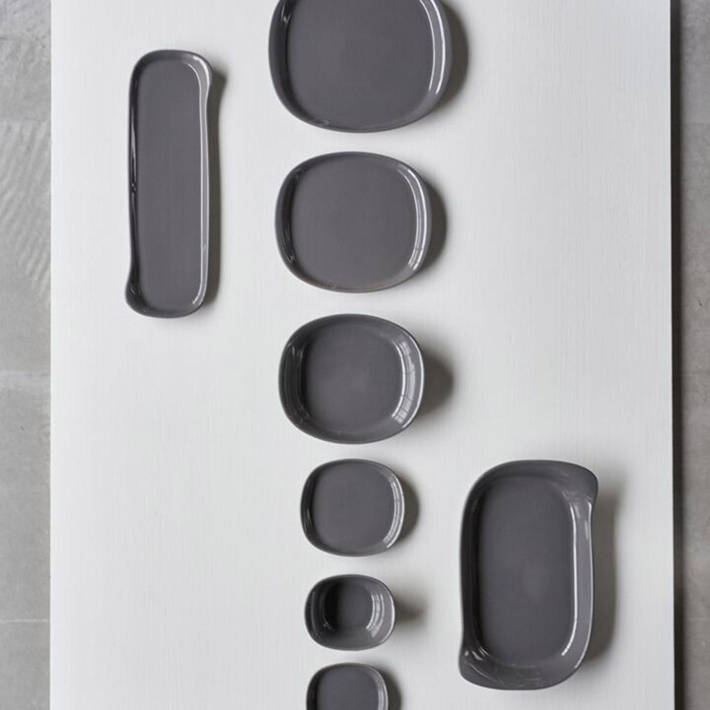 Cookplay Naoto Plate ⌀29 Dark Grey