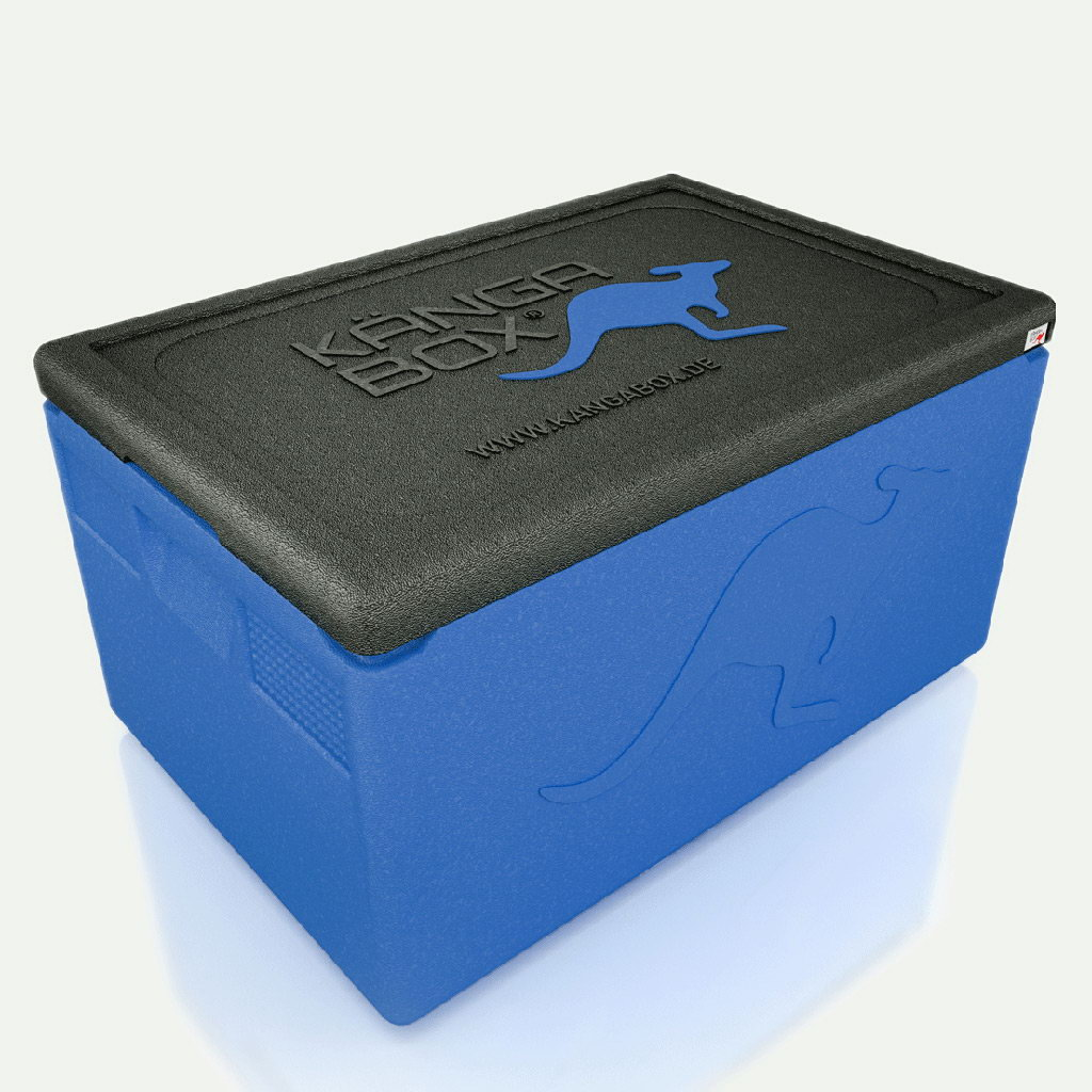 Kängabox termobox Professional GN1/1 48l modrá