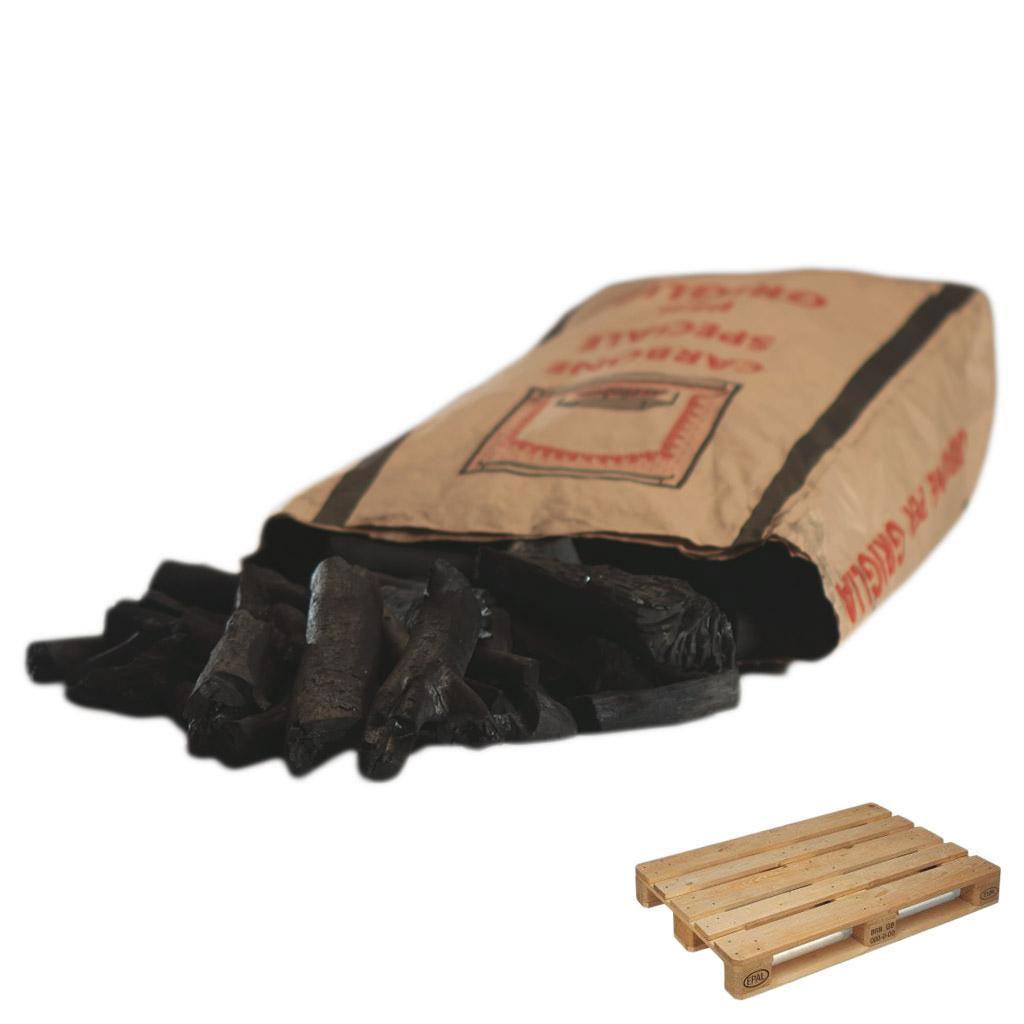X-OVEN Canutillo dřevěné uhlí 8kg paleta 60ks