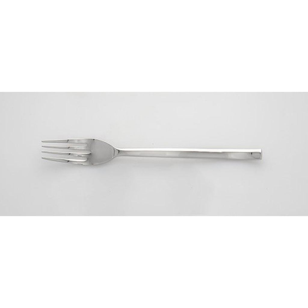La Tavola CURVA Dessert Fork polished stainless steel