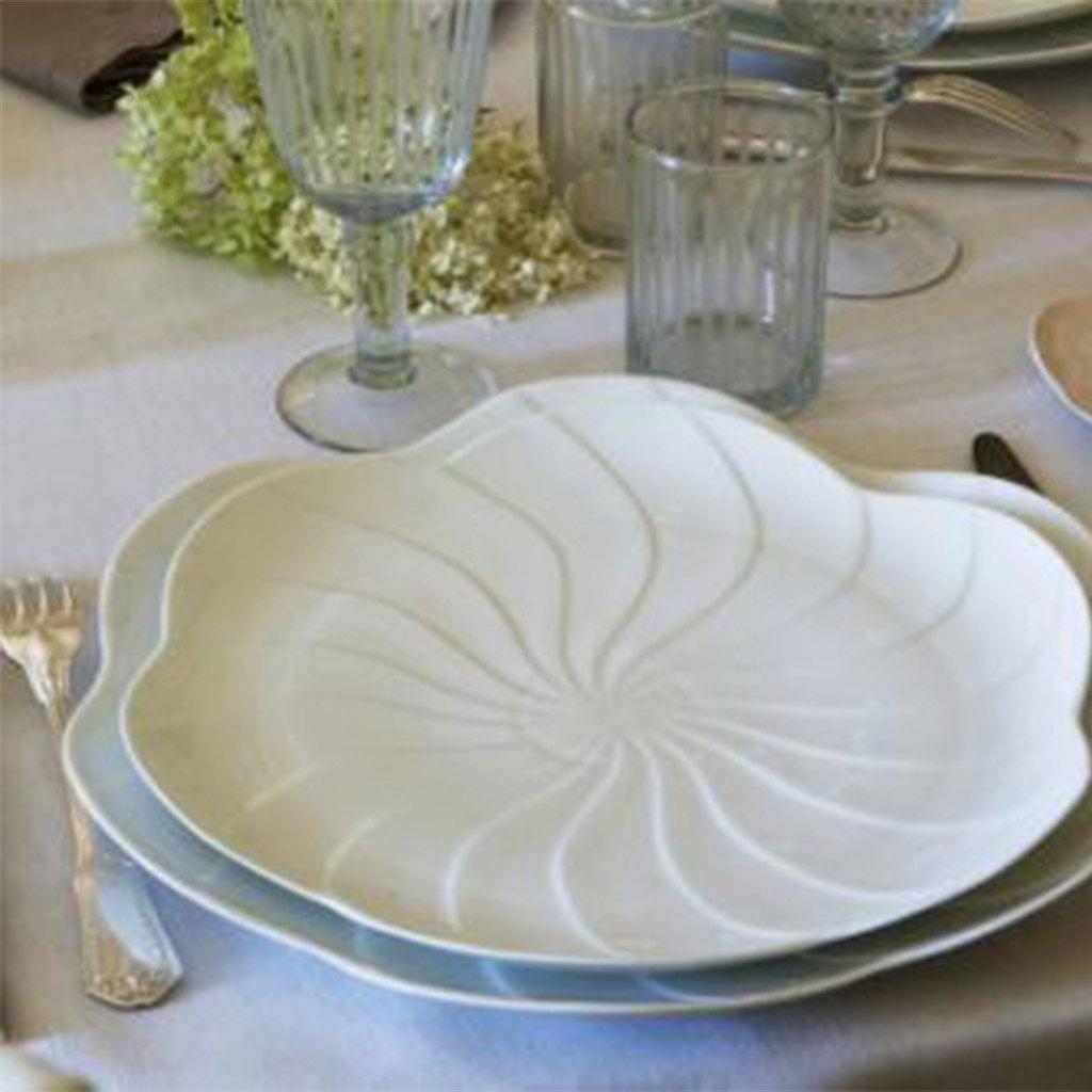 Jacques Pergay Rose petal charger plate ø31cm