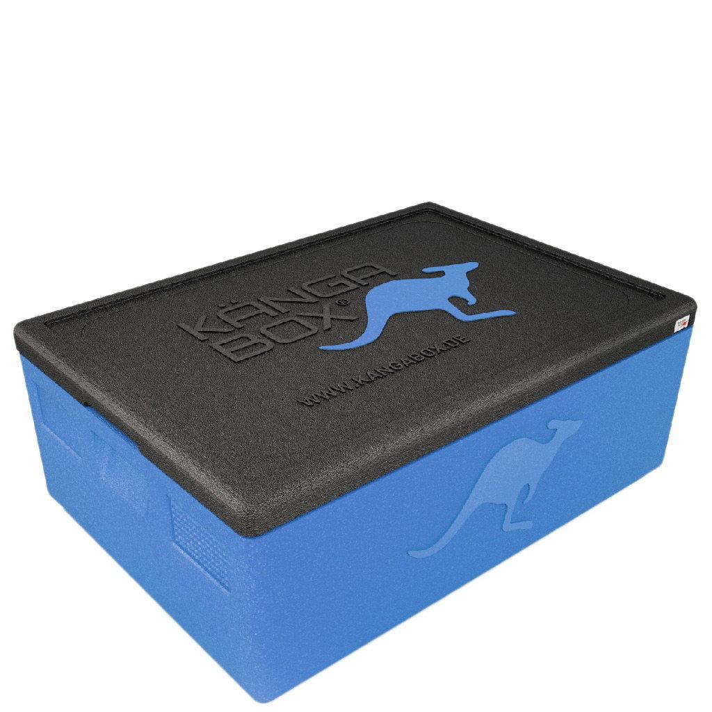 Kängabox termobox Expert 60x40 80l modrý