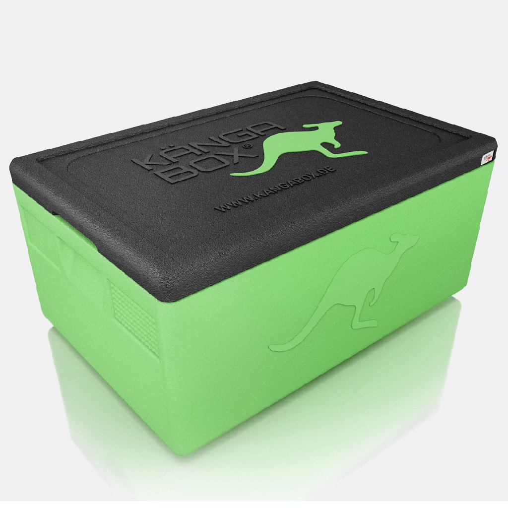 Kängabox termobox Expert GN1/1 39l limetová zelená
