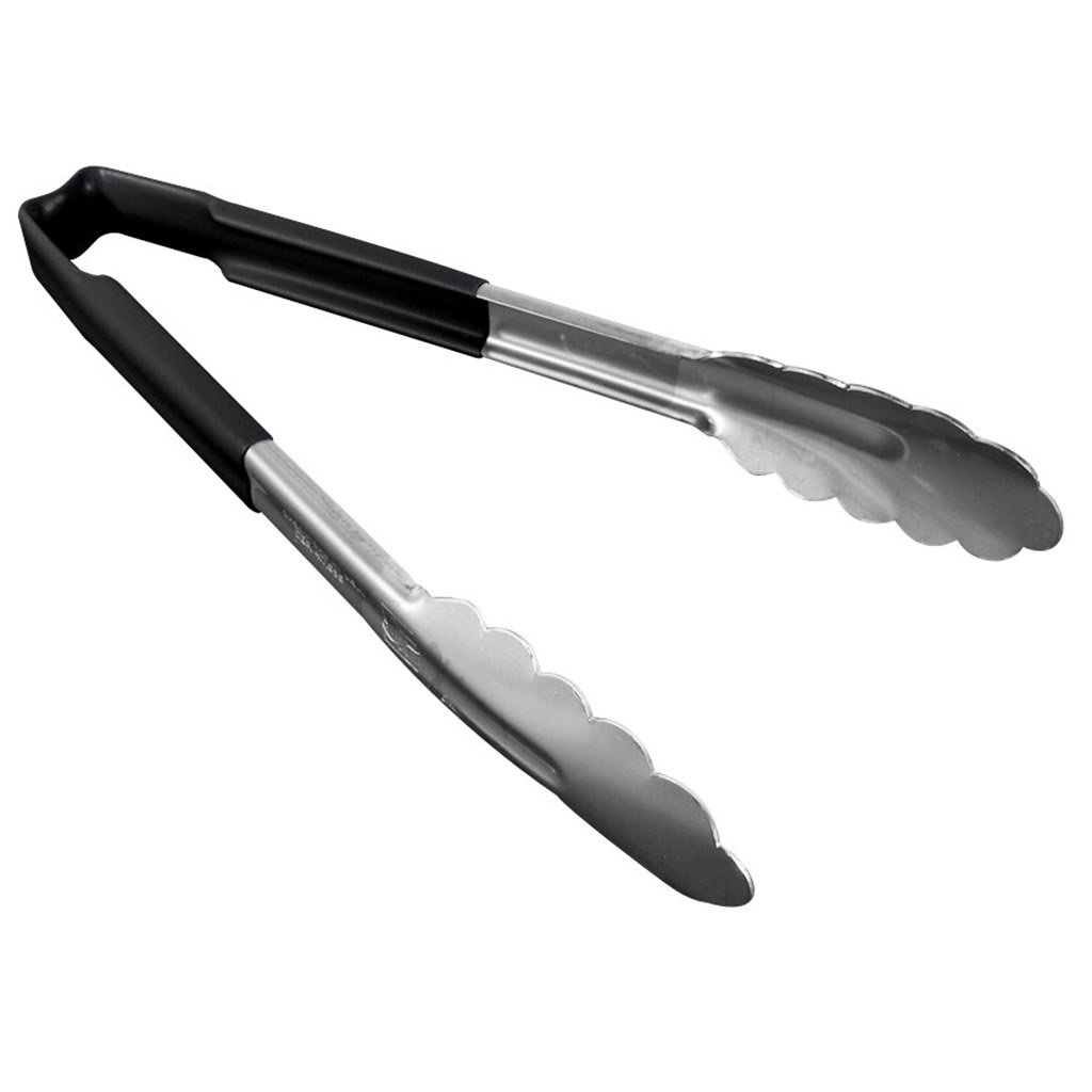 Vollrath 4780920 Kool-Touch® Tongs Scalloped Black 24,1cm