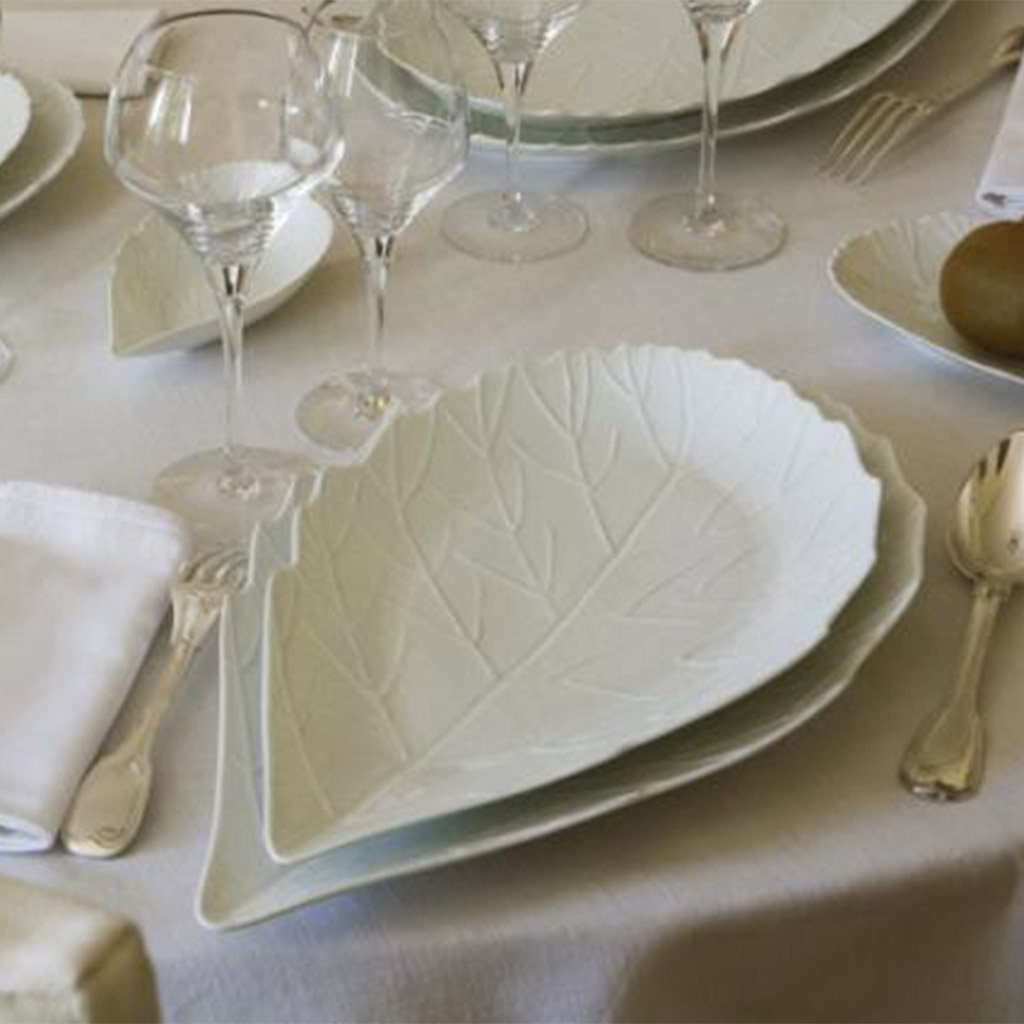 Jacques Pergay Hawthorne serving dish 45x26cm