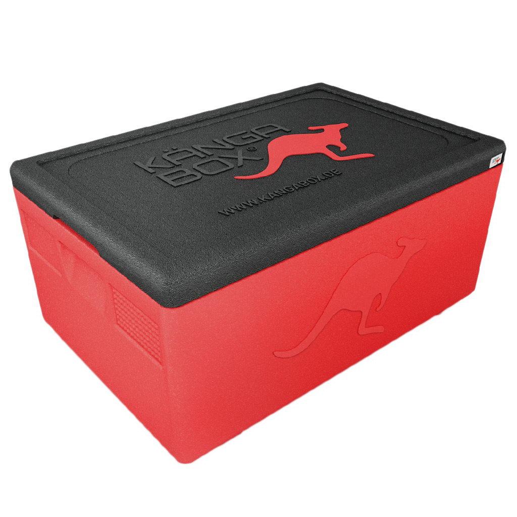 Kängabox termobox Expert GN1/1 46l červený