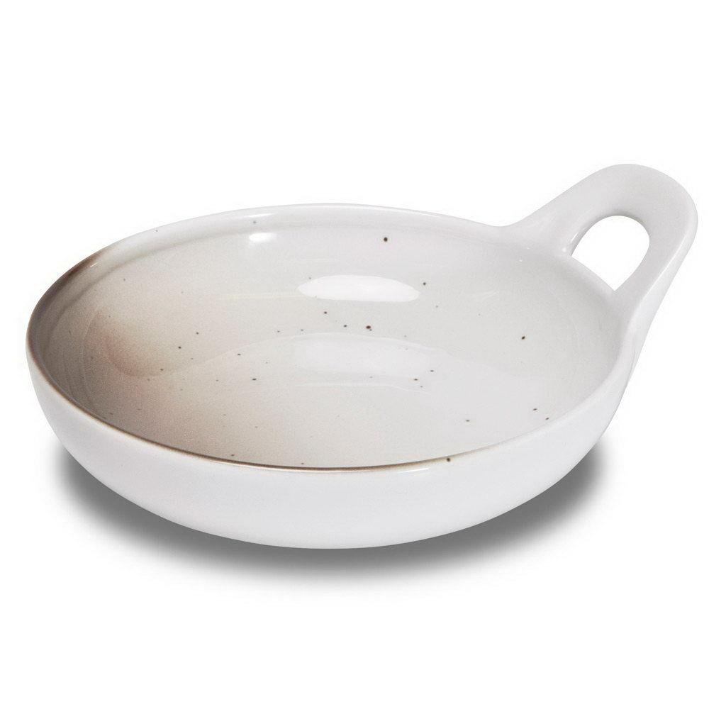 Figgjo Skygge talíř s vysokým praporem a uchem 16x18,5cm