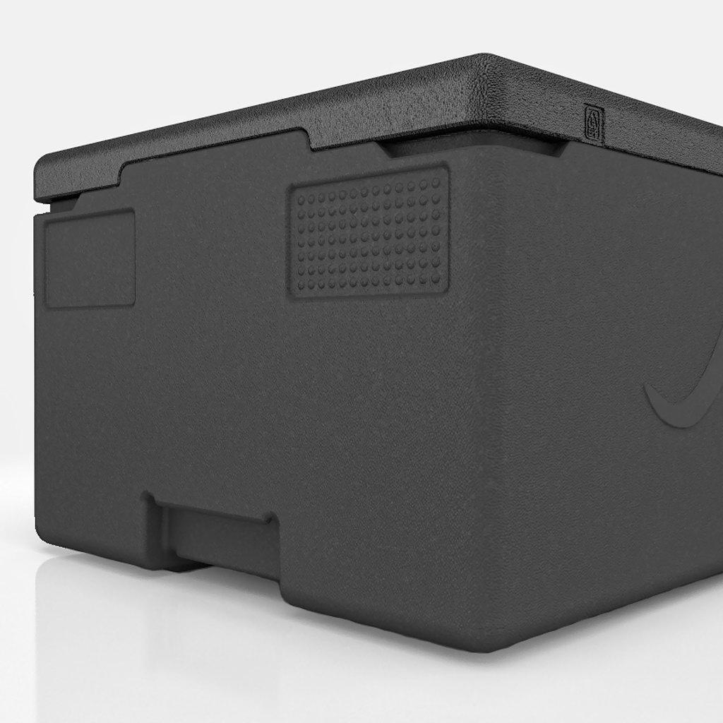 KÄNGABOX® - Professional GN 1/1 39l - černý