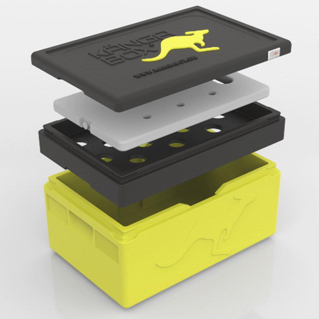 KÄNGABOX® - Chladící nástavec pro GN 60x40 pro EX6080, EX6120, EX6160, EX6200, EX6300