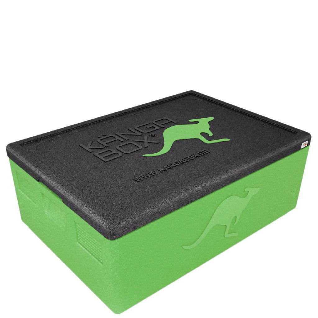 Kängabox termobox Expert 60x40 80l limetově zelená