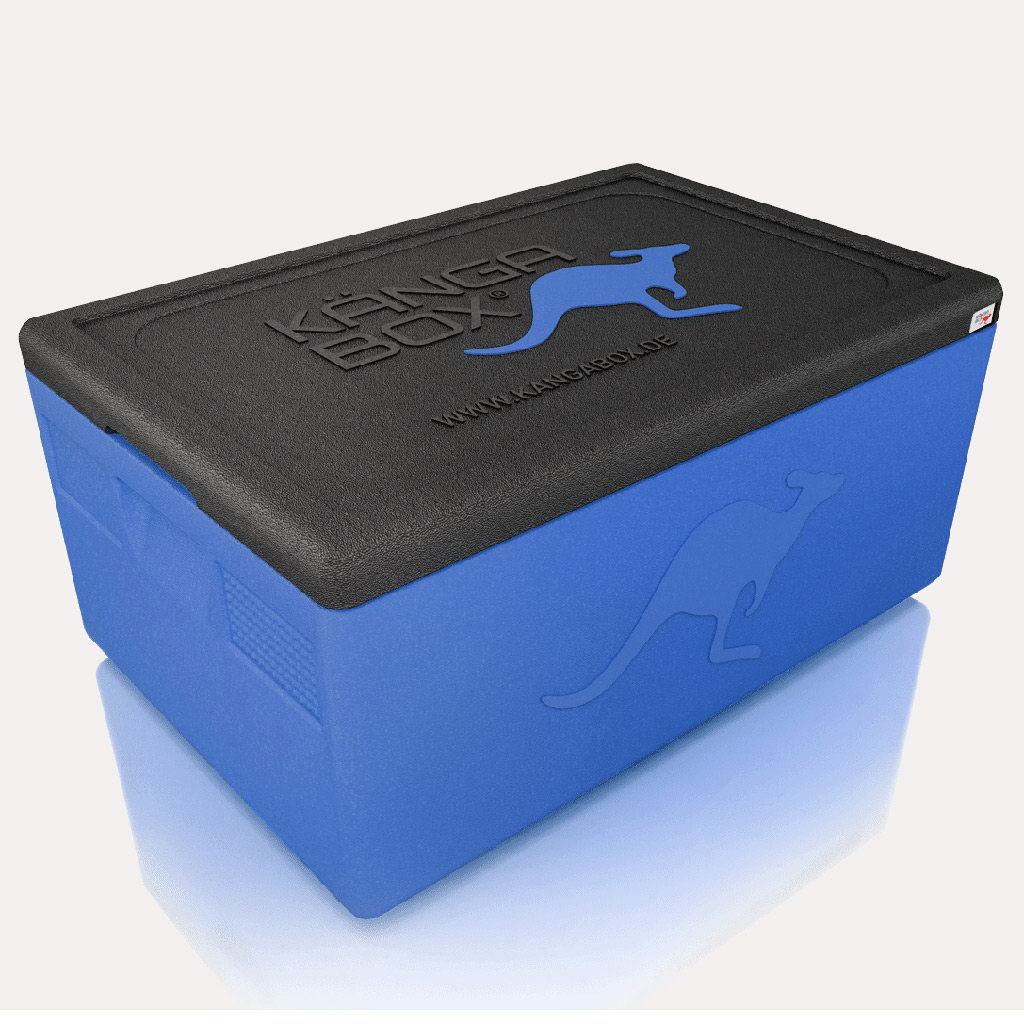 Kängabox termobox Expert GN1/2 19l modrá