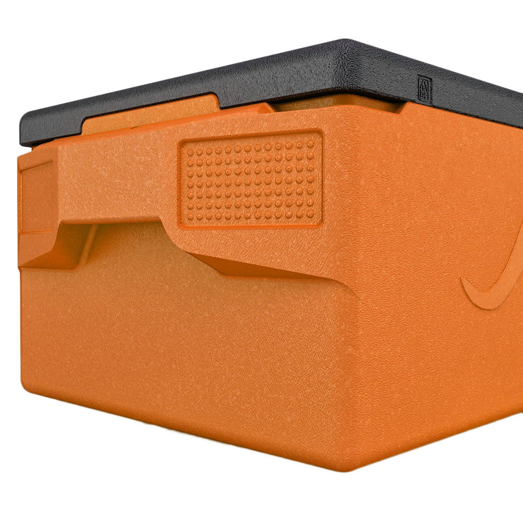 KÄNGABOX® termobox Professional plus GN 1/1 39l oranžový