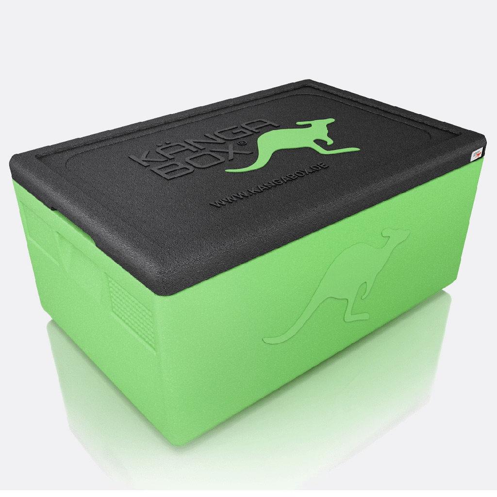 Kängabox termobox Expert GN1/1 21l limetový zelený