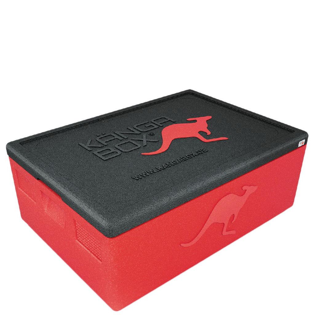Kängabox termobox Expert 60x40 53l červená