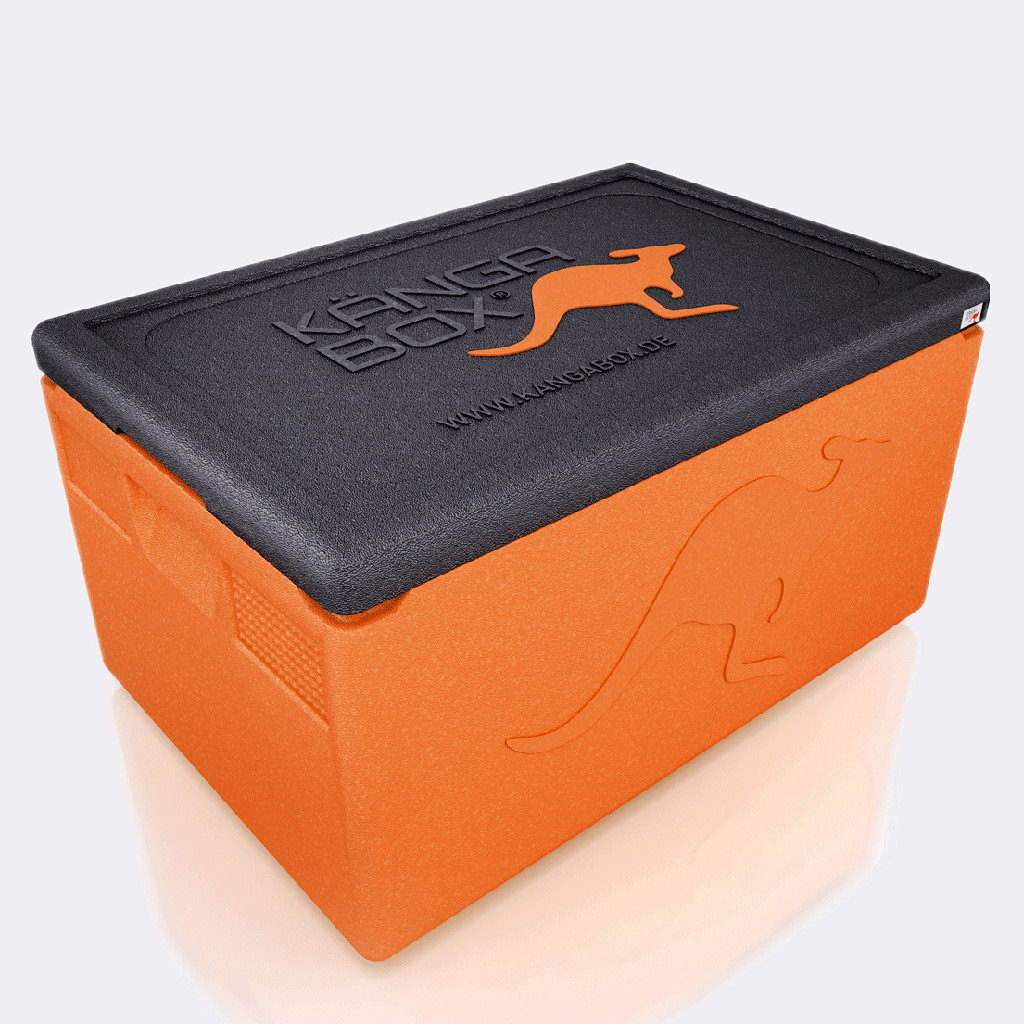 Kängabox termobox Professional GN1/1 48l oranžová