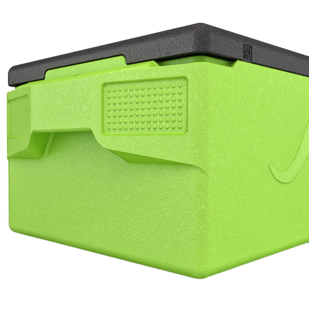 KÄNGABOX® termobox Professional plus GN 1/1 39l limetově zelený