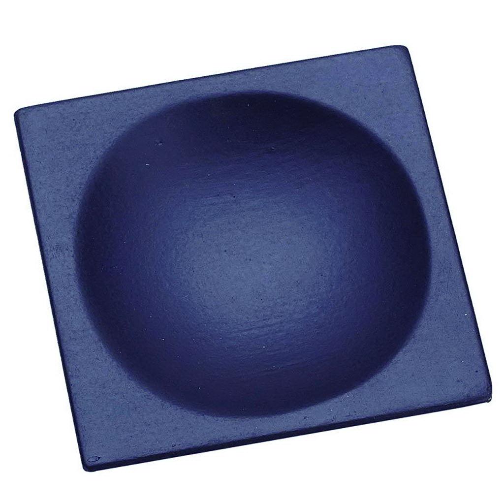100% Chef čtvercový talíř černý 6x6cm