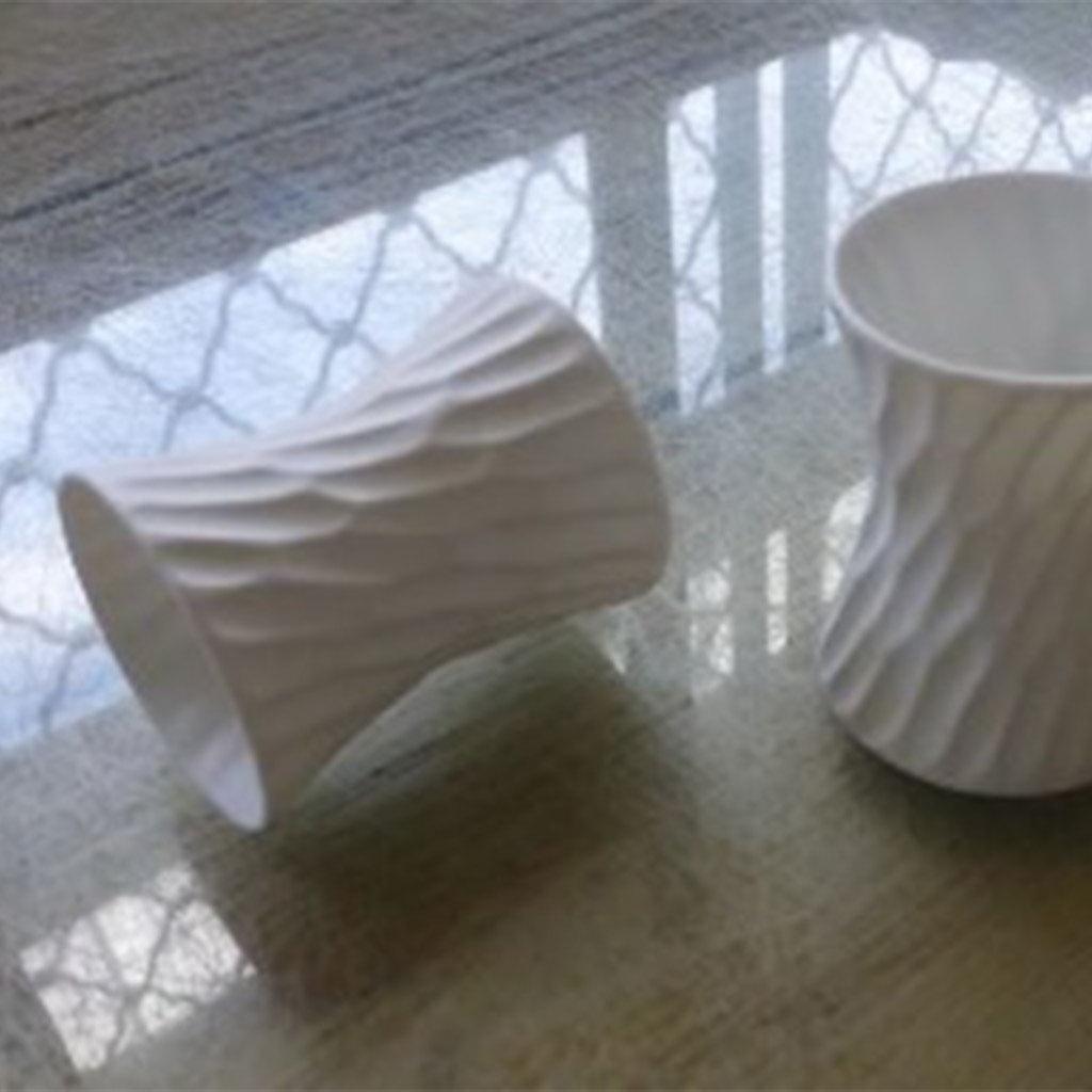 Jacques Pergay Honeycomb napkin ring/eggcup ø4,5cm