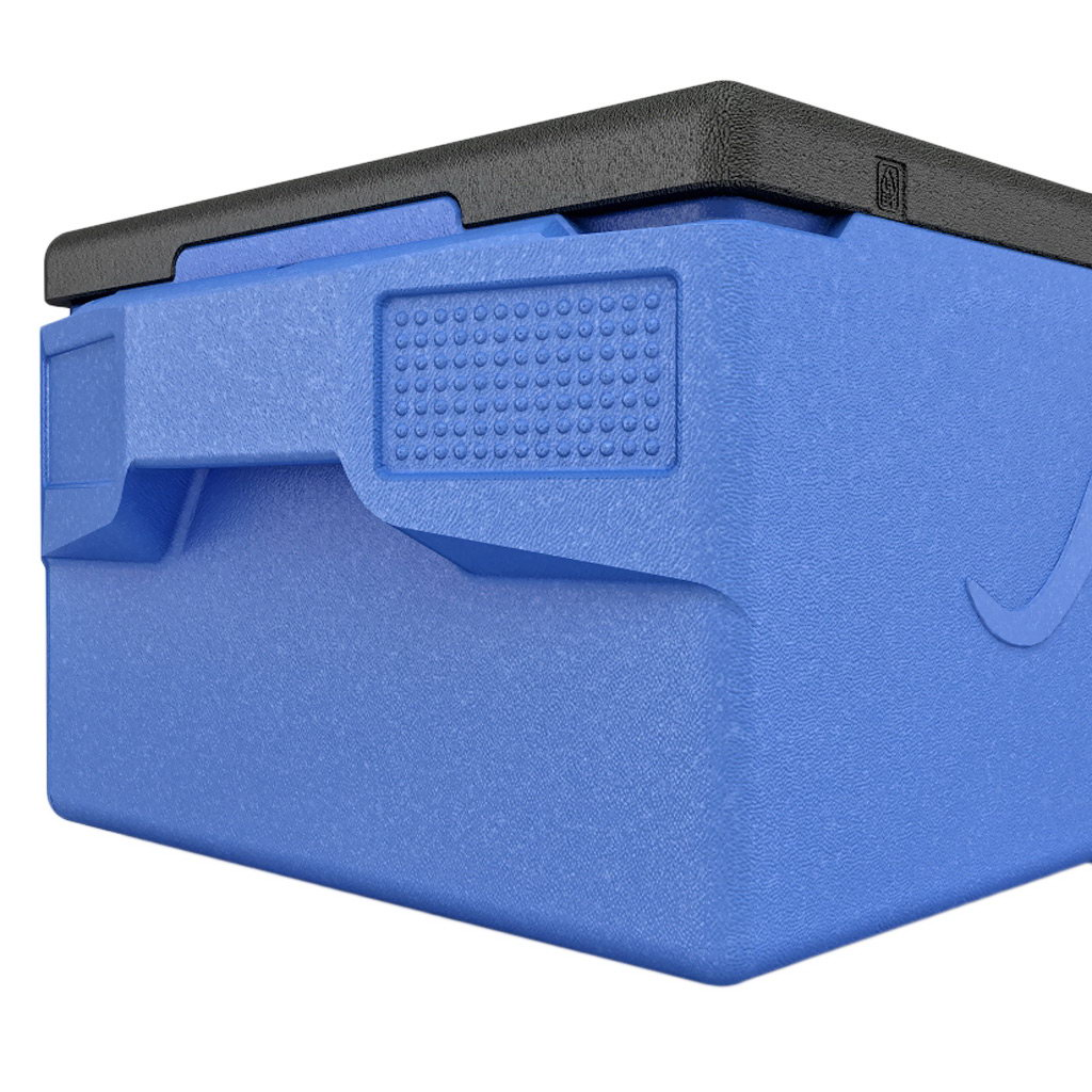 KÄNGABOX® termobox Professional plus GN 1/1 39l modrý