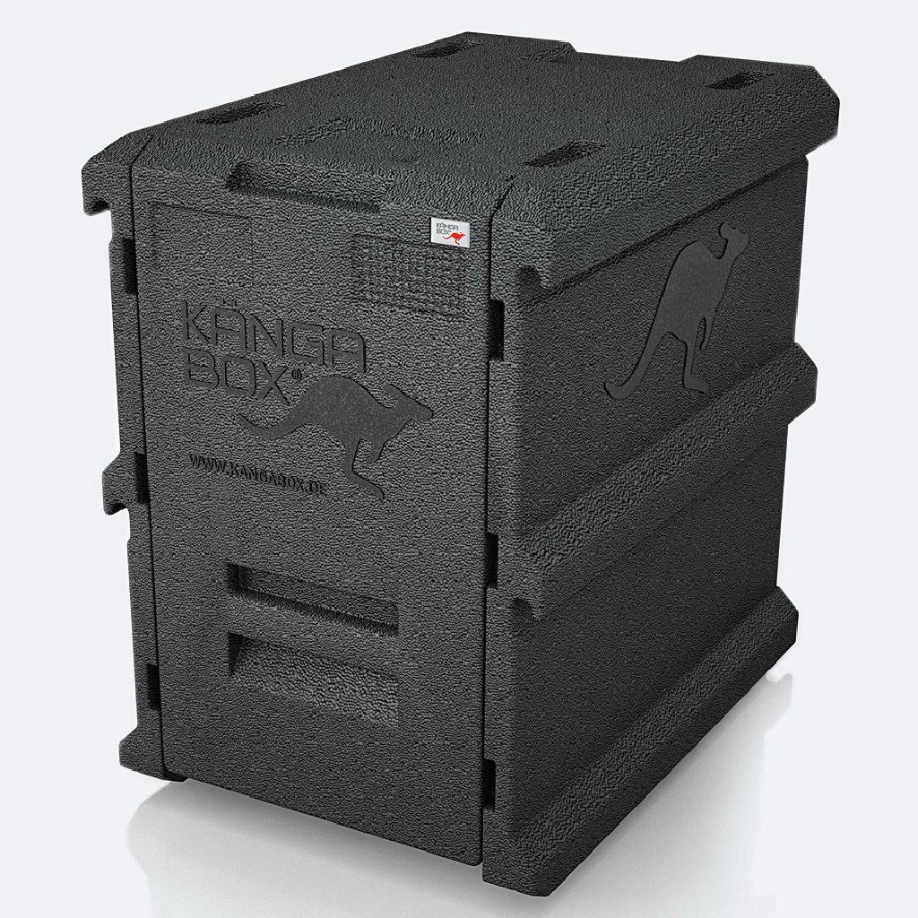 KÄNGABOX® - Tower GN 100-8 100l - černá